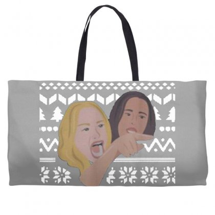 Woman Yelling At Cat Meme   Ugly Weekender Totes Designed By Oktaviany