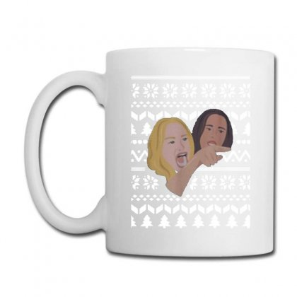 Woman Yelling At Cat Meme   Ugly Coffee Mug Designed By Oktaviany