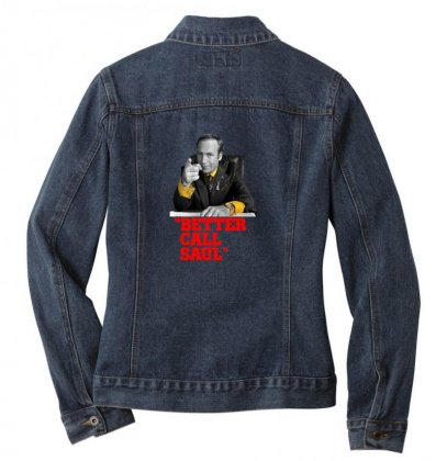 Better Call Saul Ladies Denim Jacket Designed By Oktaviany