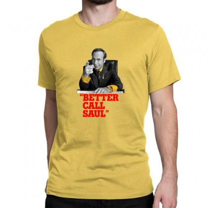 Better Call Saul Classic T-shirt Designed By Oktaviany