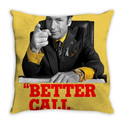 Better Call Saul Throw Pillow Designed By Oktaviany