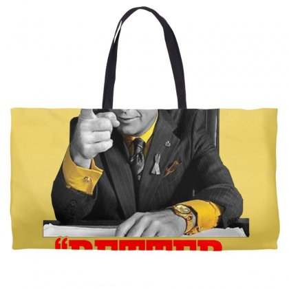 Better Call Saul Weekender Totes Designed By Oktaviany