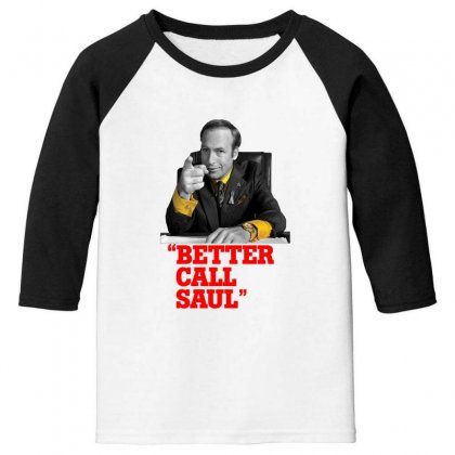 Better Call Saul Youth 3/4 Sleeve Designed By Oktaviany