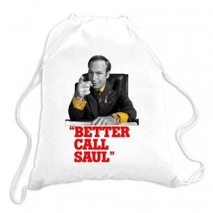 Better Call Saul Drawstring Bags Designed By Oktaviany