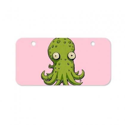 Christmas Cephalopod Bicycle License Plate Designed By Oktaviany