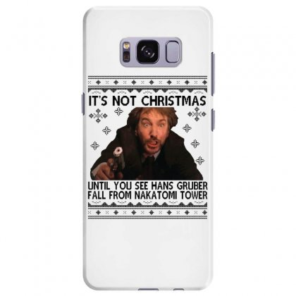 Die Hard Its Not Christmas Samsung Galaxy S8 Plus Case Designed By Oktaviany