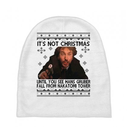 Die Hard Its Not Christmas Baby Beanies Designed By Oktaviany