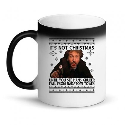 Die Hard Its Not Christmas Magic Mug Designed By Oktaviany