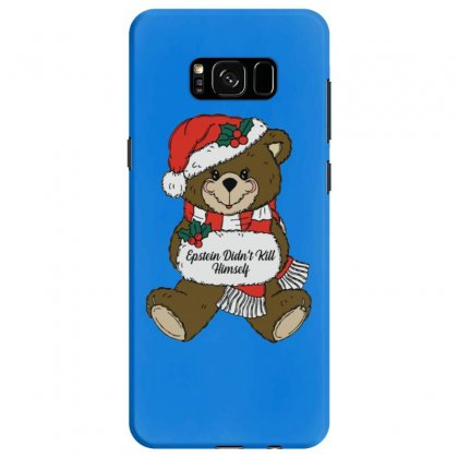 Epstein Didn't Kill Himself Christmas Samsung Galaxy S8 Case Designed By Oktaviany