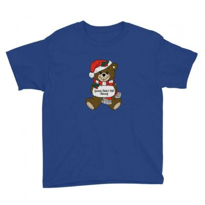 Epstein Didn't Kill Himself Christmas Youth Tee Designed By Oktaviany