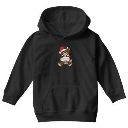 Epstein Didn't Kill Himself Christmas Youth Hoodie Designed By Oktaviany
