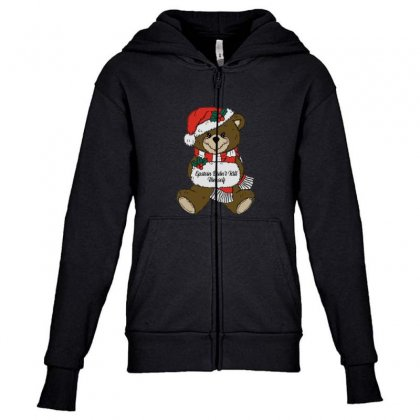 Epstein Didn't Kill Himself Christmas Youth Zipper Hoodie Designed By Oktaviany