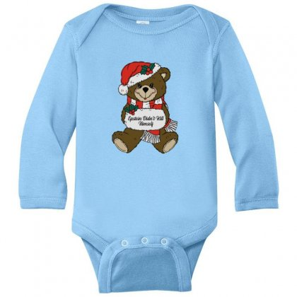 Epstein Didn't Kill Himself Christmas Long Sleeve Baby Bodysuit Designed By Oktaviany