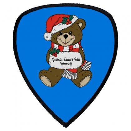 Epstein Didn't Kill Himself Christmas Shield S Patch Designed By Oktaviany