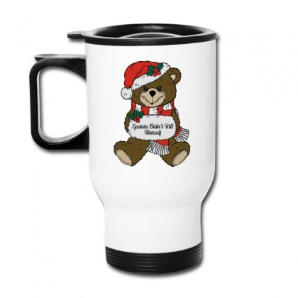 Epstein Didn't Kill Himself Christmas Travel Mug Designed By Oktaviany
