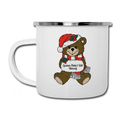 Epstein Didn't Kill Himself Christmas Camper Cup Designed By Oktaviany