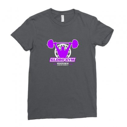 Globo Gym Costume Ladies Fitted T-shirt Designed By Oktaviany