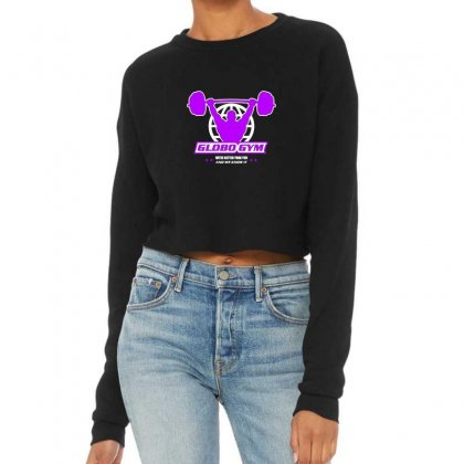 Globo Gym Costume Cropped Sweater Designed By Oktaviany