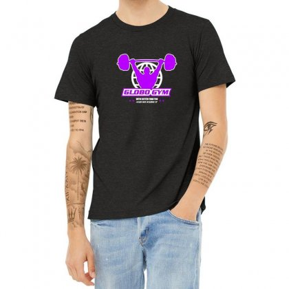 Globo Gym Costume Heather T-shirt Designed By Oktaviany