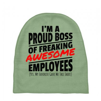I Am A Proud Boss Baby Beanies Designed By Oktaviany