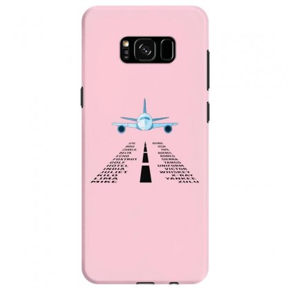 Pilot Phonetic Alphabet Merch Samsung Galaxy S8 Case Designed By Oktaviany