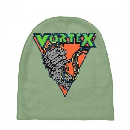 Vortex Logo Kings Island Baby Beanies Designed By Oktaviany