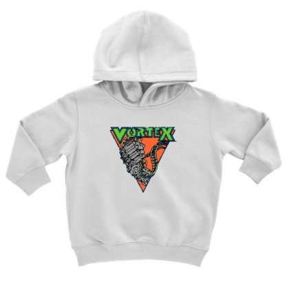 Vortex Logo Kings Island Toddler Hoodie Designed By Oktaviany