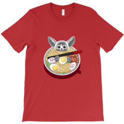Ramen Mouse T-shirt Designed By Arsa