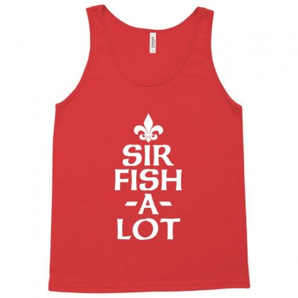 Sir Fish A Lot Tank Top Designed By Sr88