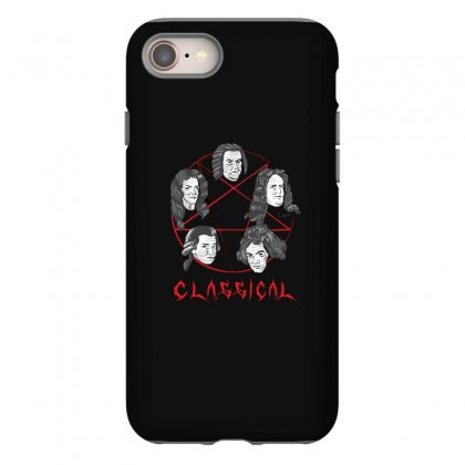 Heavy Classical Pentagram Iphone 8 Case Designed By C4hya