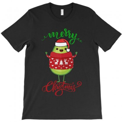 Funny Avo Merry Christmas T-shirt Designed By Jasmine Tees