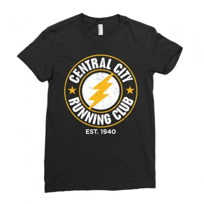 Central City Ladies Fitted T-shirt Designed By Jasmine Tees