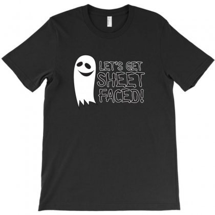 Sheet Faced T-shirt Designed By C4hya