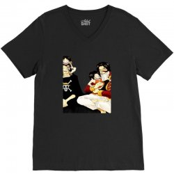 one piece db2b V-Neck Tee | Artistshot