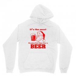 it's the most wonderful time for a beer Unisex Hoodie | Artistshot