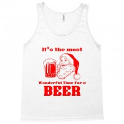it's the most wonderful time for a beer Tank Top | Artistshot
