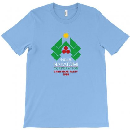 Nakatomi Christmas Party T-shirt Designed By Agus Loli