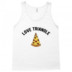 pizza love triangle Tank Top | Artistshot