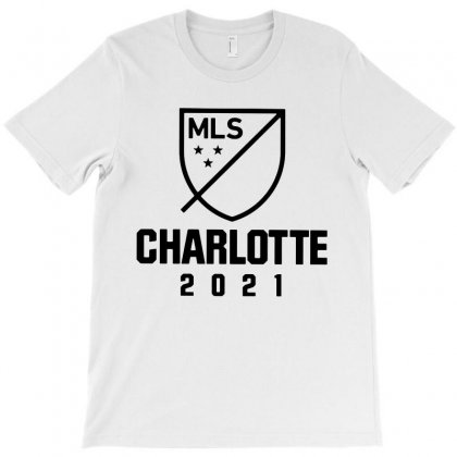 Charlotte Mls 2021 Dark Style T-shirt Designed By Rosdiana Tees