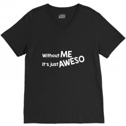 aweso V-Neck Tee | Artistshot
