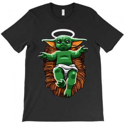 Funny Baby Yoda  Christmas T-shirt Designed By Rosdiana Tees