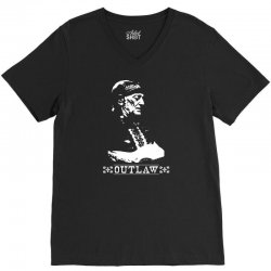 willie nelson t shirt vintage country music t shirts outlaw willie nel V-Neck Tee | Artistshot