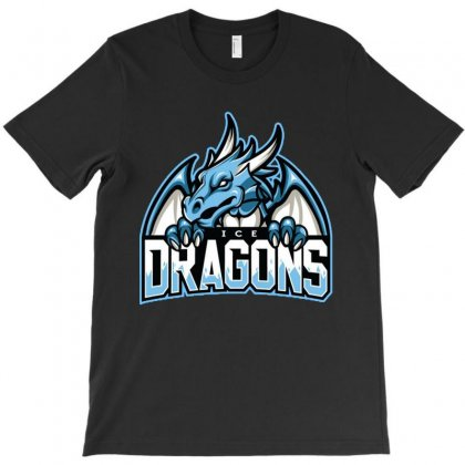 Ice Dragons T-shirt Designed By Rosdiana Tees