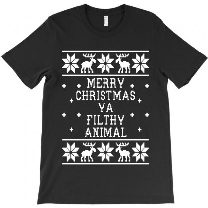 Merry Christmas Ugly For Dark T-shirt Designed By Rosdiana Tees
