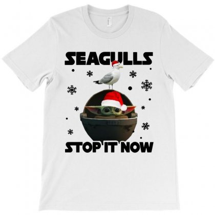 Seagulls Stop It Now 2 T-shirt Designed By Rosdiana Tees