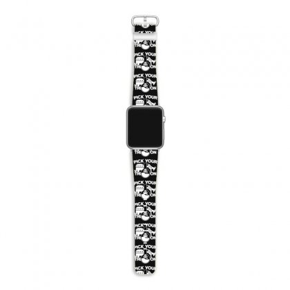 Pick Your Poison Apple Watch Band Designed By K0d1r