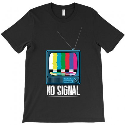No Signal T-shirt Designed By Wizarts