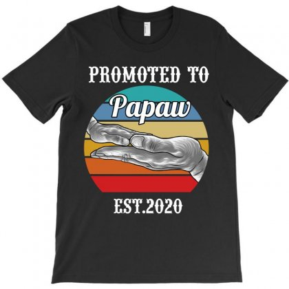 Promoted To Papaw Est. 2020 T-shirt Designed By Wizarts