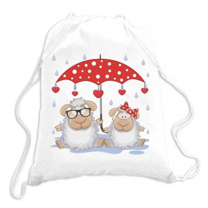Sheep Love Drawstring Bags Designed By Estore
