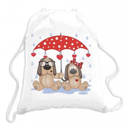 Dog Love Drawstring Bags Designed By Estore